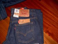 LEVI Blue Jeans , style 517,Boot Cut, Slim Fit and Low