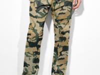 Get in on the camo trend with these chinos from