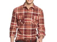Rugged style that cleans up nice. Levi's new shirt