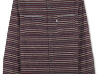 Perfect for fall, Levi's new striped button-down is