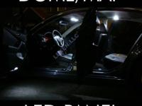 Customize your vehicle with LED interior lights that