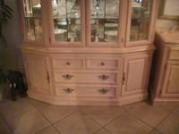 This is an 7 seat lexington formal dining set with 2