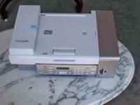 This is a Lexmark 5495 4 in 1 color printer. Efax and