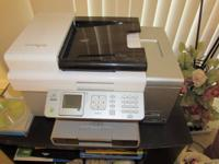 Lexmark all in one scanner, fax and color printer.