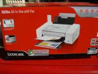 Brand new Lexmark all in one printer