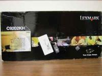 Lexmark C9202KH Black Toner Never been used Original