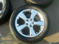 Lexus chrome rims 18 inch off of Lexus RX330. 235/55/18