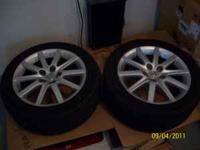 OEM Lexus rims with newer tires. (5x114) Goodyear