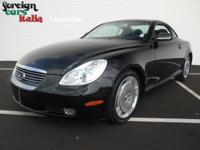 This is a Lexus, SC 430 for sale by Foreign Cars Italia