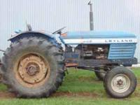 262 Leyland Tractor with new rubber. Tractor in good