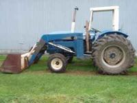 272 turbo Leyland tractor and loader. Included are the