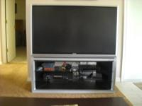 this is a brand new tv in box, never opened.includes 2