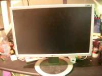 "I have a 19"" flat screen LG flatron monitor, i no"