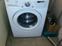 Used LG front load washer for sale. 7 years of ages in