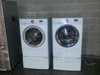 1 set LG Washer/Dryer!  These are in Exceptional health