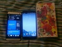 Listen carefully ...  Selling or trading both my htc m7