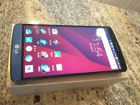 "A gorgeous, nearly-new LG G3 in beautiful ""blue steel."""