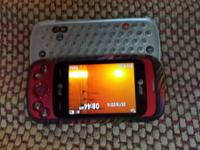 For sale a LG GW370 basic wise phone with a slide out