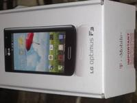 I have an LG Optimus F3 for sale. It's in great