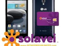New sealed LG F6 4G LTE Smartphone with FREE Solavei
