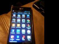 LG Optimus l7 Smartphone. Alltel is the provider.