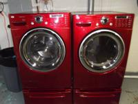 Selling Our Like New Front Load Washer/Gas Dryer Both