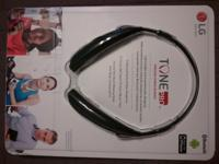 LG Tone Pro headset, model HBS-750. Brand new from