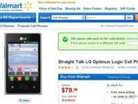 It's an LG Optimus Smart Phone made for Straight Talk