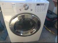 Perfect condition has dryer. Delivered at no extra