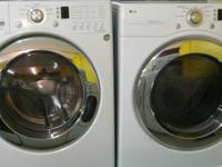 LG Tromm washer and dryer set in excellent conditions