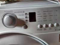 Like new matching washer and dryer. The one thing wrong