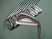 Iron set is in excellent condition. Would be a great