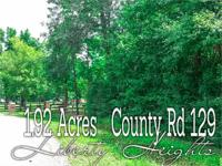 *** 1.92-ACRES *** heavily wooded lot. Just imagine,