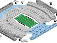 I have 4 tickets to the UNC vs Liberty Football video