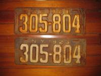 I have a few dozen aged New Jacket permit plates type