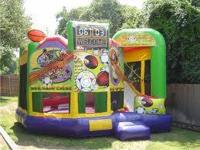 RENT A LICENSED BOUNCE HOUSE BY DISNEY OR A DOUBLE