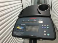 Life fitness 5500HR. We are looking to sell this simply