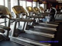 This is a reconditioned LifeFitness 95TE Treadmill. See