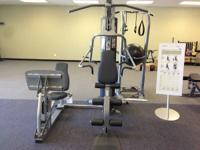 This is a floor model Life Fitness G2 Home Gym w/