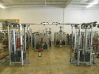 "Life Fitness / Hammer Strength Pkg. w/ ""Platinum"" Frame"