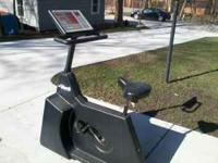 Life Fitness stationary bike for parts or to fix.