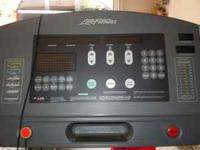 Life fitness treadmill. Commercial use in professional