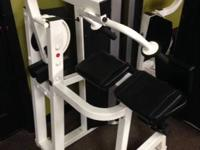 Life Fitness Club Collection selectorized tricep