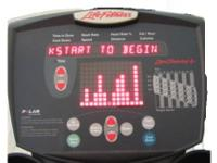 Works great! This elliptical was used in a residence.