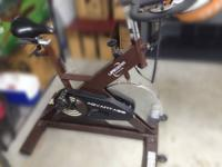 Life Gear Spin Bike Used, in excellent condition