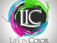 General admission hard copy ticket to Life In Color,