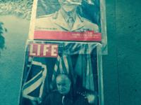 LIFE Magazine 2 WWll issues. June, 1944 D-Day Edition