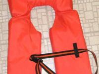 Stay safe   Foam filled life vest  Brand New