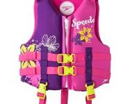 Speedo Child: Life Jacket (30-50 lbs.) U.S. Coast Guard
