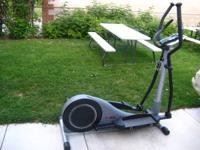 I'm offering a LifeCORE LC985Z Elliptical Cross Trainer